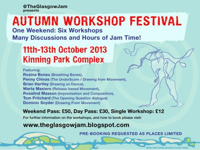 Autumn workshop festival