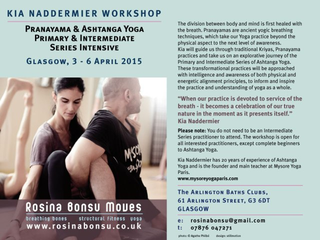 Kia Naddermier Workshop April 2015