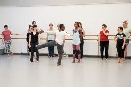 Rosina Bonsu dance class at Dance House January 2015