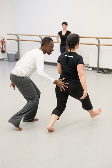 Rosina Bonsu dance class at Dance House January 2015