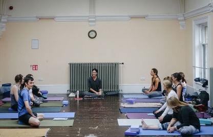 Kia Naddermier yoga weekend, Rosina Bonsu Moves, Glasgow November 2016.